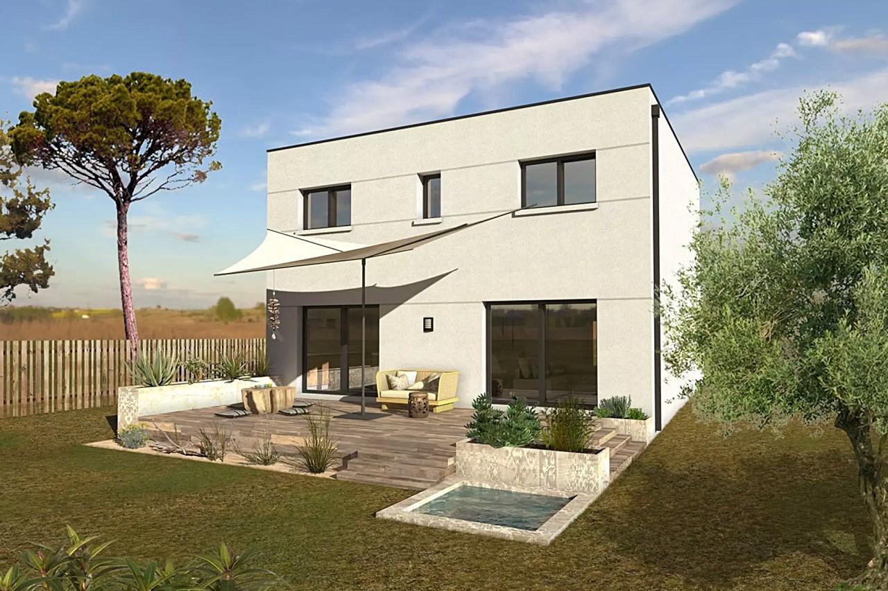 Modele my4 de maison individuelle 6 pi ces for Personnaliser ma propre maison