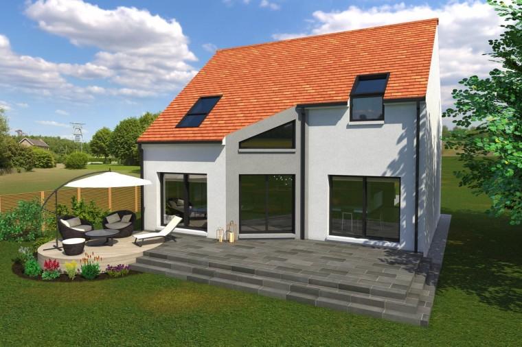 Modele my5 de maison individuelle 7 pi ces for Personnaliser ma propre maison