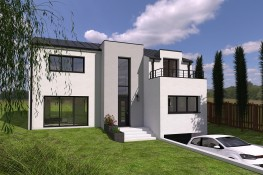 Realisation vues exterieures facade 17