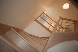 Realisation vues interieures escalier 6