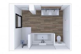 Realisation vues interieures sanitaires 26