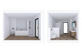 Realisation vues interieures sanitaires 27